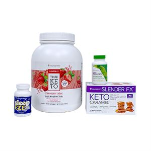 Picture of Keto 90 Strawberry Creme Better Health Challenge Pak